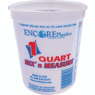 Encore 300343 Mix n Measure 1 Quart Calibrated Mixing Container No Lid