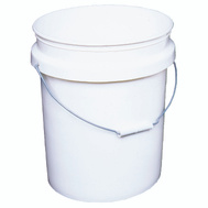 Encore 51677 5 Gallon Industrial Plastic Paint Pail Plastic