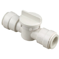 Watts Water 3539-10/P-650 Quick Connect 1/2 Inch Cts Straight Stop Valve