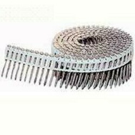Maze Nails CLCEM115015 Double Coil Collated Siding Nail, 0.095 In X 2 In, 15 Deg, Steel