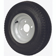 Martin Wheel DM408B-4I Loadstar Tire Bias 480/4.00-8 4X4-1/2