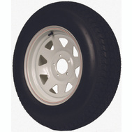 Martin Wheel DM175D3C-C-I Tire Bias 175/80D-13 5X4-1/2