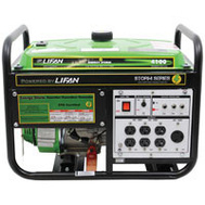 Lifan Power ES4100 Energy Storm Generator Res 4000W 7Hp Recoil