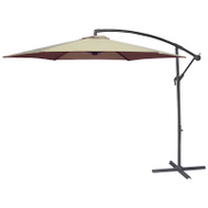Seasonal Trends UMSC10BKOBD-04 Umbrella Offset Taupe 10ft