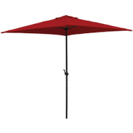 Seasonal Trends UMQ65BKOBD-03 Umbrella Red 6.5ft