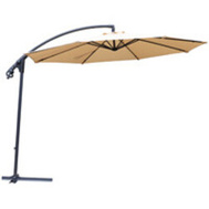 Seasonal Trends UMD10-8BKOBD-04 Umbrella & Stand Offset Esy Up