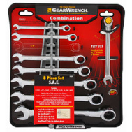 Allen 120358 GearWrench 8PC SAE Ratc Wrench Set