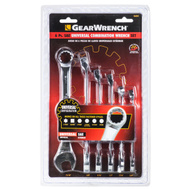 GearWrench 86000 6 Piece 3/8 To 11/16 Inch Universal SAE Combination Wrench Set