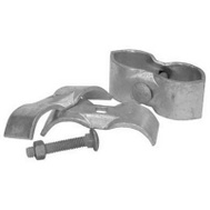 Midwest Air Technology 328526C 1 3/8 Inch Galvanized Panel Clamp