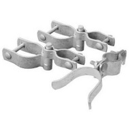 Midwest Air Technology 328536C 2 3/8 Galvanized Walk Gate Hardware Set