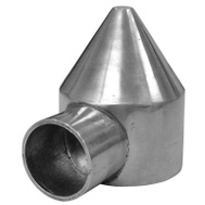 Midwest Air Technology 328568C 2- 3/8 Inch 1WY Bullet Cap