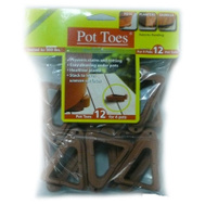 Bosmere Plant Stand PT-12TCHT 12 Pack 3 Inch Terra Cotta Pot Toes