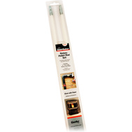 Hy-C PRD308 Gardus Scooteater Pellet Stove Extension Rod Kit 3 Foot Rods 2 Pack
