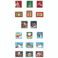 Santas Forest 69631 Gift Boxes Nested Large 6 Asst