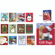Santas Forest 69607 Gift Bag Large