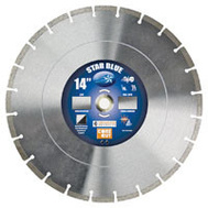 Diamond Products 14355 14 Inch By.125 Universal Segmented Blade Blue