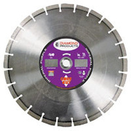 Diamond Products 15379 14 Inch By.125 Inch Universal Segmented Blade Purple