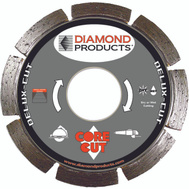 Diamond Products 20966 4 Inch By.080 By 7/8 Inch Segmented Blade