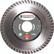 Diamond Products 21134 4-1/2 Inch By.080 By 7/8 Inch Turbo Blade