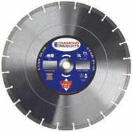 Diamond Products 85261 14 Inch By.125 Inch Universal Blue Segmented Blade