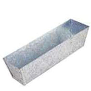 Vulcan 15003 Galvanized Mud Pan 13 Inch