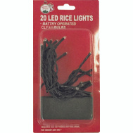 Santas Forest 03808 Light String Led Rice Clear