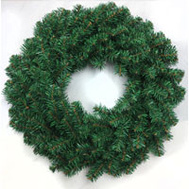 Santas Forest 07018 Tillamook Fir Wreath 20In