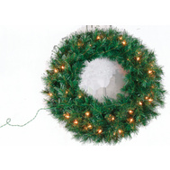 Santas Forest 09029 Montana Wreath 30In