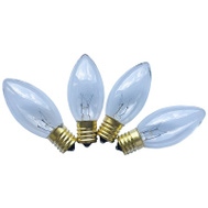 Santas Forest 16591 Replacement Bulb C9 Clear 25Ct (Box Of 25)