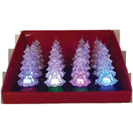 Santas Forest 21323 Tree Led Pdq 4in