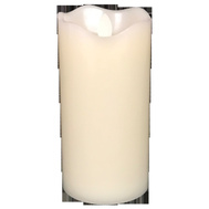 Santas Forest 25313 Candle D/F White Plastic 7In