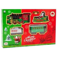 Santas Forest 27301 Christmas Train Decoration 12In