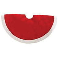 Santas Forest 28901 Tree Skirt Value Plush 48In
