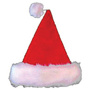 Santas Forest 28905 Hat Santa Value Plush 17In