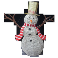 Santas Forest 58305 Snowman 3D Led 53In