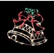 Santas Forest 60305 Double Bells Led 16In