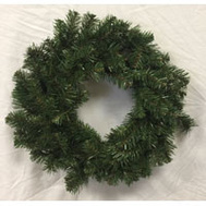 Santas Forest 61028 Sheared Noble Fir Wreath 24In