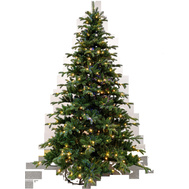 Santas Forest 62776 Noble Tree Led 7.5Ft