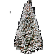 Santas Forest 63790 Noble Fir Pre-Lit Clr Tree 9Ft
