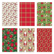 Santas Forest 68303 Paper Wrapping 40Inx80sqft