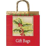 Santas Forest 69617 Bag Gift Kraft Large