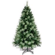 Santas Forest 81776 Pre-Lit Clr Pine Tree 7.5Ft