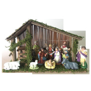 Santas Forest 89337 Nativity Set 12Pc 11In