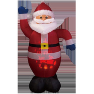 Santas Forest 90325 Santa Infltble W/Projector 6Ft