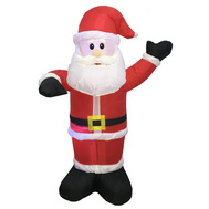 Santas Forest 90337 Santa Inflatable 4Ft