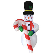 Santas Forest 90343 Inflatable Snowman W/Cndy Cane 19Ft