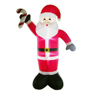 Santas Forest 90347 Inflatable Santa W/Candy Cane 19Ft