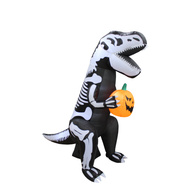Santas Forest 90353 Inflatable T-Rex Skeleton 6Ft
