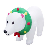 Santas Forest 90357 Inflatable Polar Bear W/Motion 8Ft