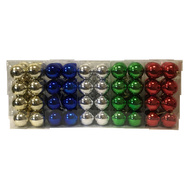 Santas Forest 99905 Shatterproof Balls Asst Colors16pc 60Mm